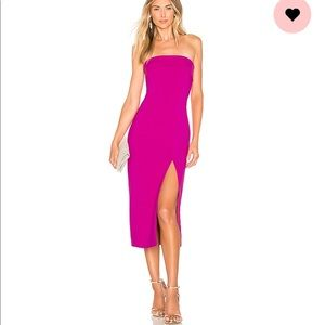 Revolve Kerr Dress Magenta (Jay Godfrey)